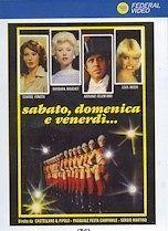SABATO,DOMENIC A E VENERDÌ Edwige Fenech,Barbara Bouchet