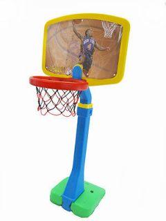 NEW Big Basketball Hoop Set Easy Setup Score Great for Little Children
