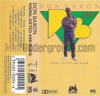 DON BARON   YOUNG GIFTED AND BLACK GRAND PUBA BRAND NUBIAN MASTERS OF