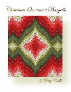 Delectable Bargello – A Bargello Quilt Made From Half