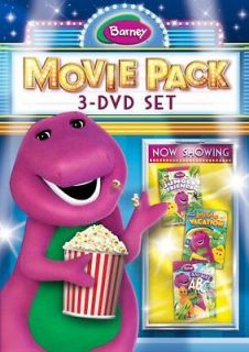 BARNEY 3 MOVIE PACK New Sealed 3 DVD Set