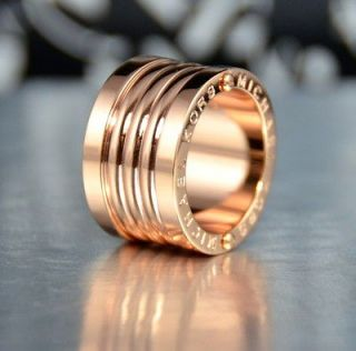 MICHAEL KORS barrel rose gold ring size 7 RETAIL $68+