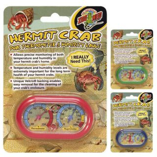 Hermit Crab Therm / Humidity Gauge HC 11