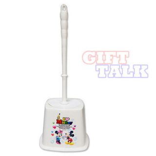 Disney Mickey & Minnie Mouse Bathroom Toilet Brush collectible novelty