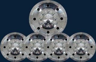 Chrome Truck / Trailer / Van 16 Hubcaps Wheel Covers Part # S6073 ABS