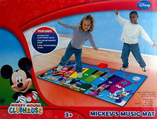FREE SHIP Disney Mickey Mouse Club House MUSIC MAT Tune Electronic