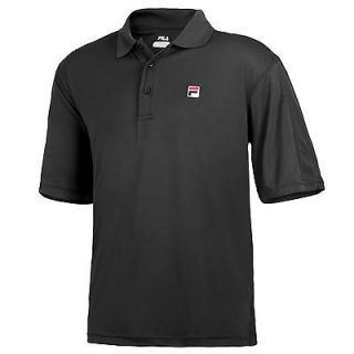 FILA Mens Essenza Solid Polo