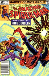 Amazing Spider Man #239 (1st FULL appearance of Hobgoblin), our grade