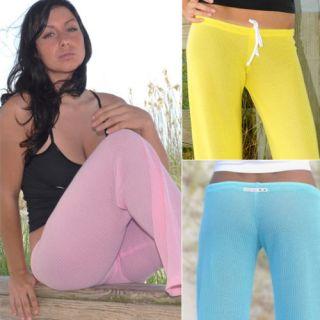 Sexy Xposed Skinz Bikinis x730 Mesh Lowrise Beach Pants