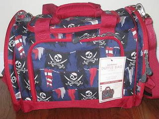 NEW Pottery Barn Kids SMALL DUFFLE BAG PIRATE LAST ONE