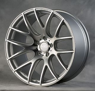 111 Hyper Silver Staggered Wheels Rims Fit VW Beetle Coupe Convertible