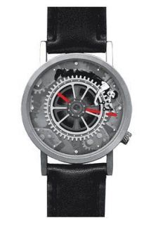 Charlie Chaplin Rotating Gear Wrist Watch