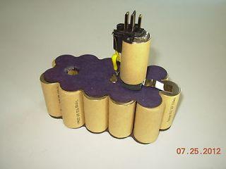 Dewalt DW9096 18 volt 2.2 Amp Hour Nicd Pod Style Battery Rebuild Kit