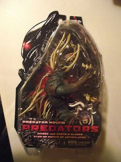 PREDATOR HOUND HINGED JAW OPENS & CLOSES NECA 7 ACTION FIGURE