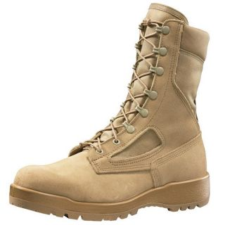 BELLEVILLE DESERT TAN 390 DES BOOTS (us military army tactical combat