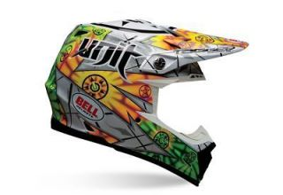 Bell Moto 9 Unit Multicolor Helmet Size Medium