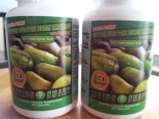 2X Btls Green Coffee Bean Extract 400mg 120 VCAPS DR OZ 50%