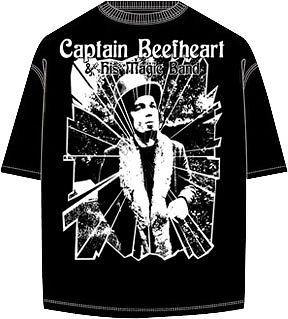 Captain Beefheart & His Magic Band Shirt #2 (All Sizes)