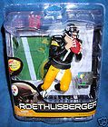 MCFARLANE 28 BEN ROETHLISBERGER PITTSBURGH STEELERS NFL FOOTBALL SUPER
