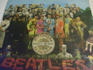 the beatles sargent pepper album original 1967 mono