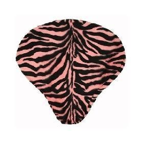 Basket Buddy Bike Seat Cover, Pink Zebra Print