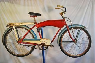 1950s Monark Cycle King balloon tire bike bicycle rat rod tank