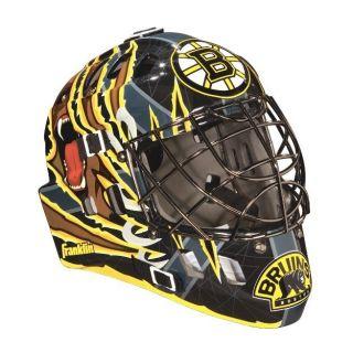 BOSTON BRUINS NHL Franklin Mini Goalies Mask New