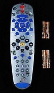 DISH NETWORK 6.0/6.3/6.4 IR/UHF PRO DVR TV2 REMOTE