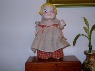 Vintage 1972 Campbell Soup Betsy Ross Colonial Doll EC!