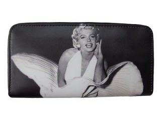 Marilyn Monroe Ballerina Money Black Case Travel Wallet Purse Bag