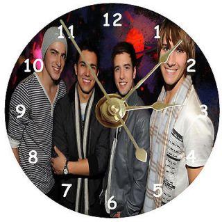 NEW Big Time Rush Band CD Clock