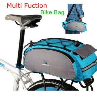 2012 NEW Multi Cycling Bike Travel Bicycle Rear Seat Pannier shoulder
