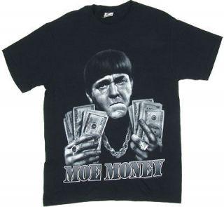 Moe Money   Three Stooges T shirt