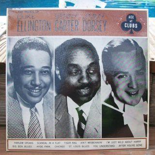 Duke Ellington, Benny Carter, Jimmy Dorsey, Self titled, Ace of Clubs