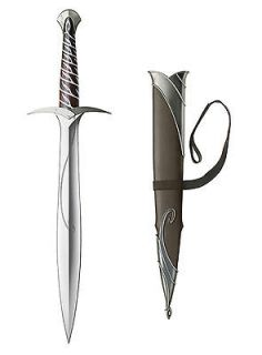 UNITED CUTLERY Hobbit Sting Sword & Scabbard Prop Lord Of The Rings