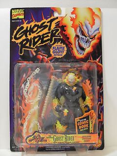 Marvel Ghost Rider Exploding Ghost Fire Figure Toy Biz 1995 NIB