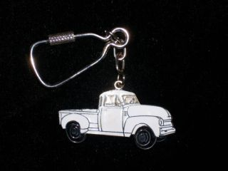 1949  54 CHEVY Pickup truck   5/window keychain