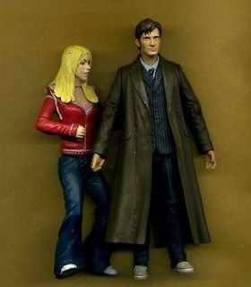 DR WHO The Tenth Doctor DAVID TENNANT & ROSE TYLER Version 1 5in