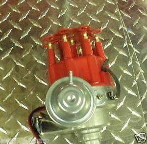 Hei Distributor Red To Run Ready Small Big Block Chevy Electronic