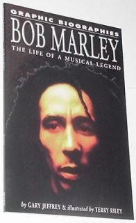 Graphic Biographies Bob Marley TP Rosen Gary Jeffrey and Terry Riley