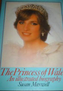 PRINCESS DIANA ILLUSTRATED BIOGRAPHY EARLY PUBLICATION BOOK