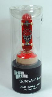 TECH DECK Geoff Rowley Flip Skull Wheel LIMITED EDITION NIB