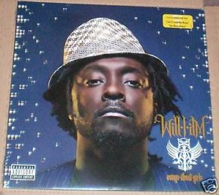 WILL.I.AM Songs About Girls LP (Black Eyed Peas) New