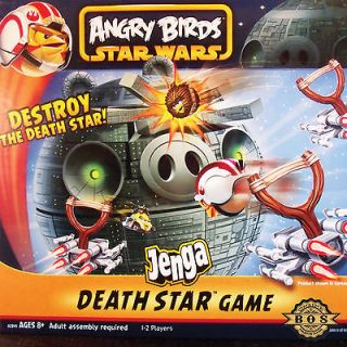 Star Wars Angry Birds Death Star Game with exclusive Chewie figure by