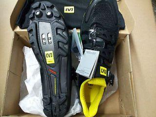 mountain MTB bike cycling bicycle shoe 9.5 43 1/3 new Black