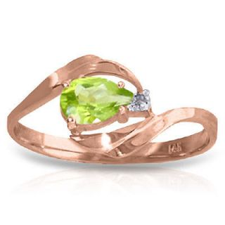 Pear Shape Gemstone Diamond 14K. Solid Gold Ring sz 6.5 Sizeable