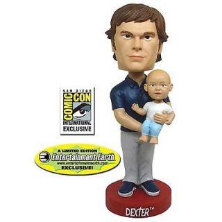 Dexter Bobble Head Dexter & Harrison Bif Bang Pow 814826010699