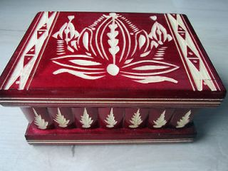 Newly listed Intelligence Magic Puzzle Wooden Secret Box Compartment
