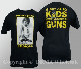 pearl jam t shirts in Clothing, Shoes & Accessories
