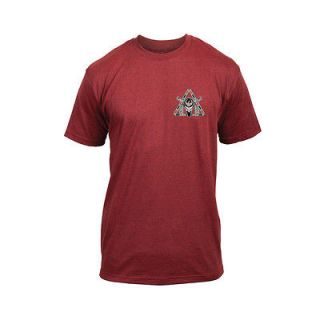DRAGON BISON TEE Shirt Brick Heather Red MENS Extra Large XL NEW
